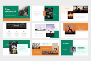 Thumbnail for Imora : Yoga Lifestyle Google Slides