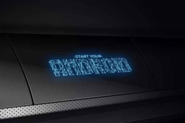Networld - Futuristic Display Font - product preview 1