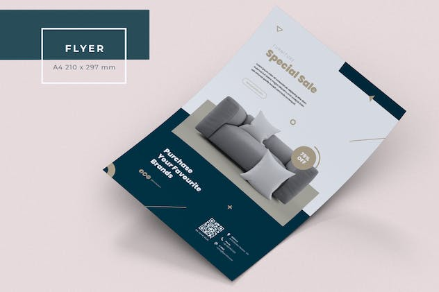 Furniture Flyer - product preview 5