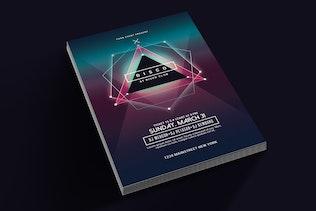 Thumbnail for Electro Disco Music Flyer