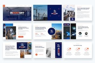 Industery - фабричные и промышленные слайды Google