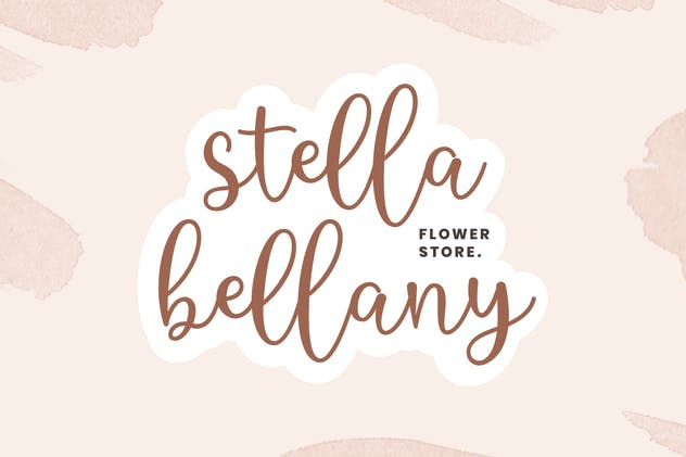 Beautifly Bold and Bouncy Handwritten Script Font - product preview 4