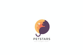 Thumbnail for Pet Star Creative Logo Template