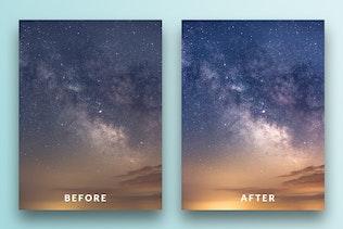 Thumbnail for Night Sky Lightroom Presets
