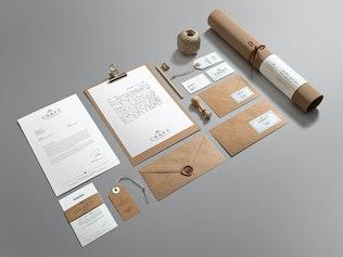 Thumbnail for Craft Branding Mockup