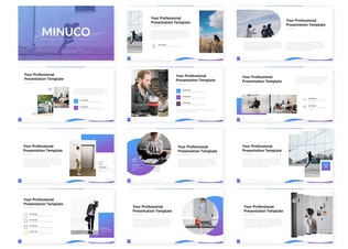 Thumbnail for Minuco - Powerpoint Template