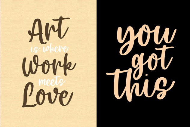 Artsy - Handwritten Font - product preview 6