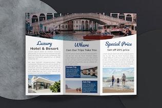 Thumbnail for Travel Tri-Fold Brochure