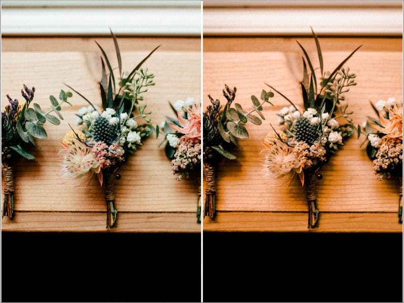 Preview image 5 for Autumn Wedding Lightroom Presets