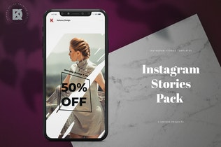 Thumbnail for Fashion Feminine Instagram Stories Pack