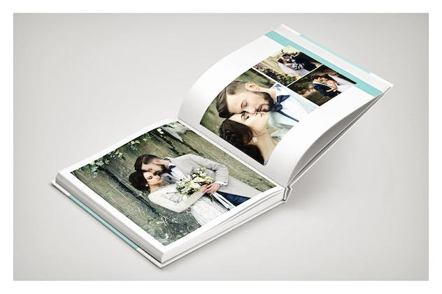 PSD - Minimalist Wedding Album - product preview 1