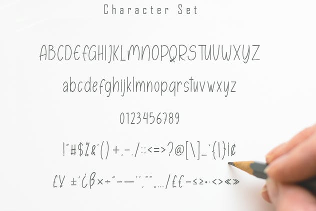 Esmonthy - Monoline Font - product preview 5