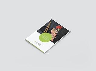 Thumbnail for Mini Brochure – Sushi Restaurant A5