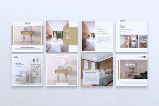 Thumbnail for DECORA Interior Instagram & Facebook Post