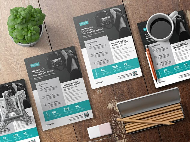 simple flyer for agency - product preview 2