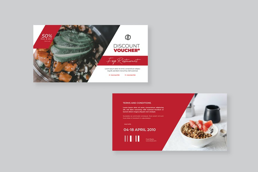 Food Voucher  - product preview 1