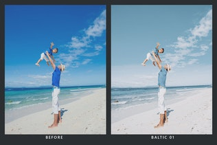Thumbnail for 20 Sun Faded Lightroom Presets and LUTs