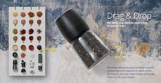Thumbnail for Kitchen Scene Gen. - Herbs & Spices