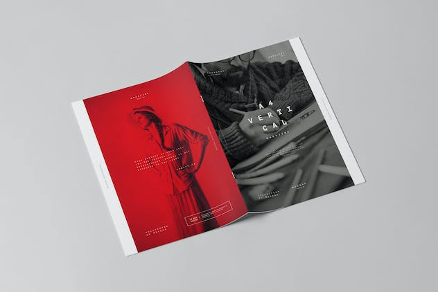 A4 Brochure Mock-up 3 - product preview 5