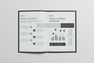 Thumbnail for Multipurpose Brochure Template 16 Pages
