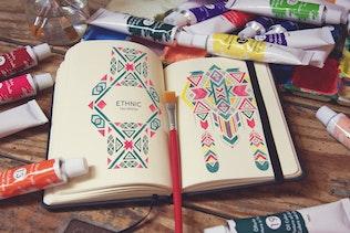 Thumbnail for Pocket Notebook & Brush