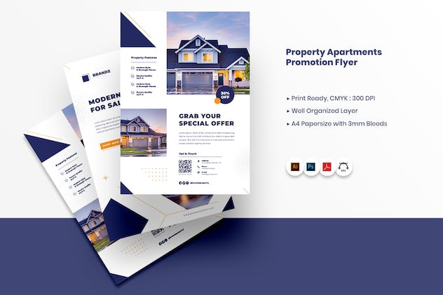Property Apartment Promotion Flyer - product preview 4