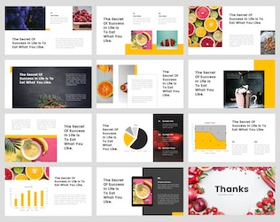 Thumbnail for Daun - Food PowerPoint Template