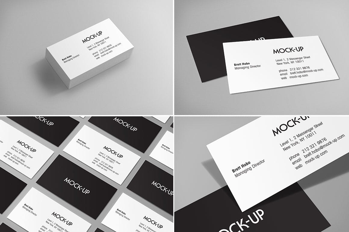 Business card mockups by rhett on envato elements magicingreecefo Image collections