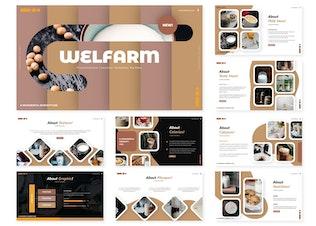 Миниатюра для Welfarm | Шаблон Powerpoint