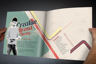 Thumbnail for Vintage - Corporate Identity Manual Template