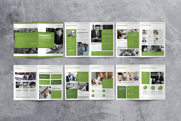 Business Marketing Company Profile - product preview 3