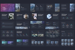 Thumbnail for Tech - Powerpoint Template