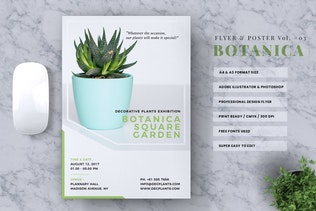 Botanica Event Flyer & Poster Vol. 03
