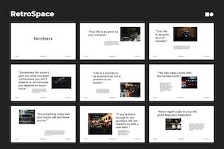 Миниатюра для RetroSpace - Powerpoint