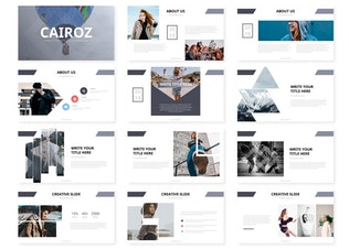 Thumbnail for Cairoz - Powerpoint Template