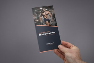Thumbnail for Brochure – Gym Tri-Fold