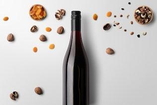 Thumbnail for Wine Bottle Mockups Vol. 4