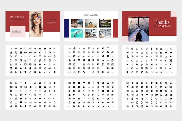 Evoza : Luxury Lifestyle Powerpoint - product preview 4