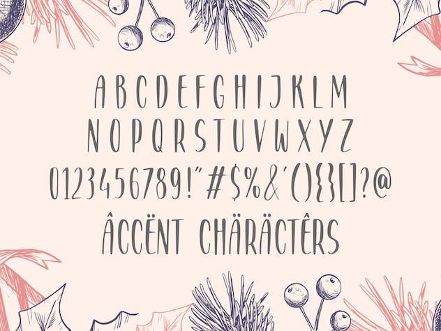 Grovelane Brush Font YH - product preview 1