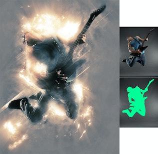 Миниатюра для Ярость 2 Photoshop действие