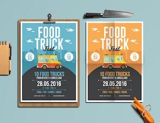 Food Truck Flyer