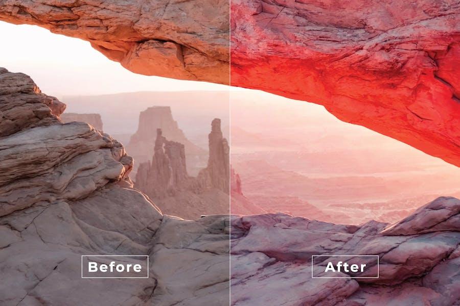Dry Photo Photoshop Action