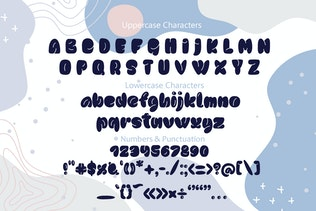 Sweet Sky Rotund Font - Fuente