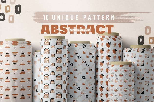 Abstract Element Shape Pattern Seamless - product preview 2