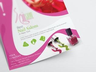 Nail Salon/ Flyer Template