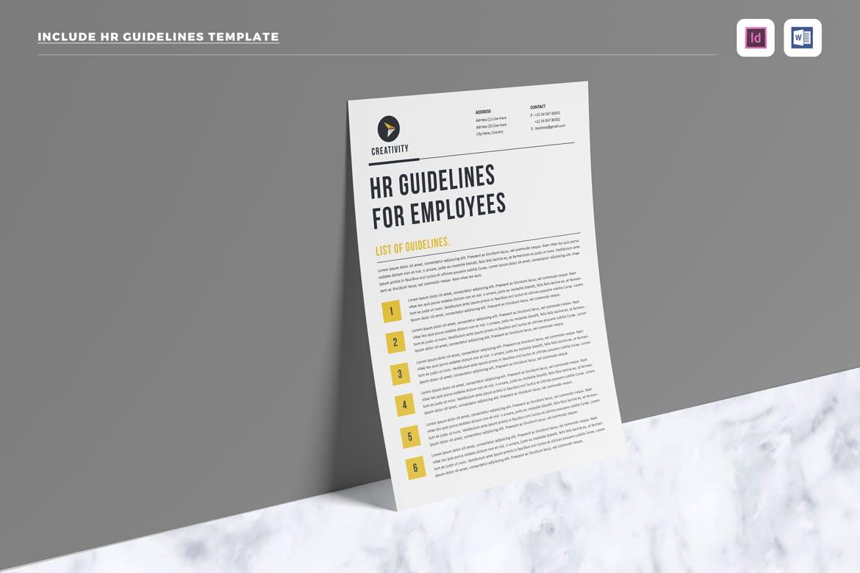 HR / Employee Handbook by LeafLove on Envato Elements