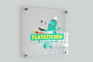 Thumbnail for FlatKitchen Mascot Logo
