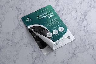 Thumbnail für Unternehmens- Business Flyer Vol. 06