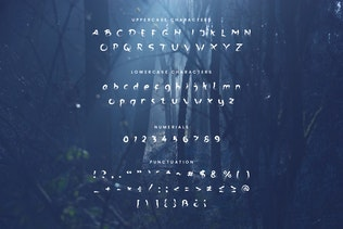 Thumbnail for The Ghost - Haunted Display Typeface