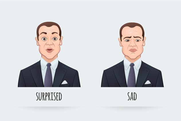 Emotions of a Businessman - product preview 2